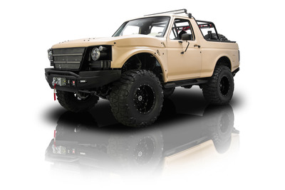 Restored Ford Bronco For The Family Of Fallen Navy Seal, Adam Brown.  (PRNewsFoto/MyClassicGarage.com)