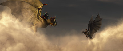 "DreamWorks Animation's Sci-Tech award winning OpenVDB was used to help manage the storage of enormous amounts of information created by complex visual effects in Academy Award(R) nominee ""How to Train Your Dragon 2."" (photo credit: DreamWorks Animation)"