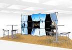 Xpressions Connectix Pop Up Trade Show Displays.  (PRNewsFoto/American Image Displays)
