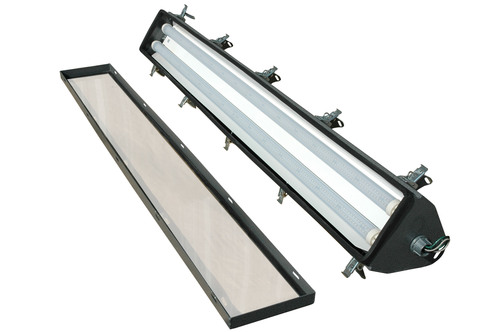 The Magnalight HAL-SA-48-2L-LED Hazardous Area LED Light Fixture is U.S./Canada U.L. approved Class 1 Division ...