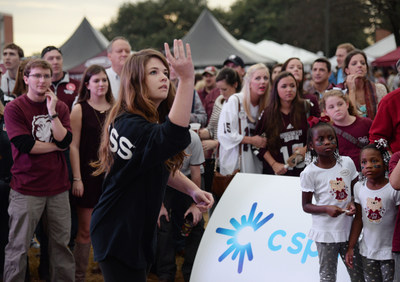 Oxford, Mississippi native and 19-year-old sophomore Marlee Crawford, a journalism major at the University of Mississippi, won the C Spire Toss for Tuition contest Saturday - earning free tuition for the remainder of her college education.