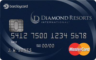 The new Diamond Resorts International(R),  MasterCard provides cardmembers the opportunity to Stay Vacationed.TM and enjoy Vacations for Life(R).