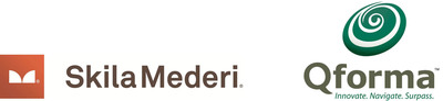 SkilaMederi and Qforma Company Logos.  (PRNewsFoto/SkilaMederi)