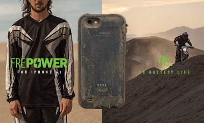 LifeProof announces FRE Power for iPhone 6s, available for pre-order today on lifeproof.com.