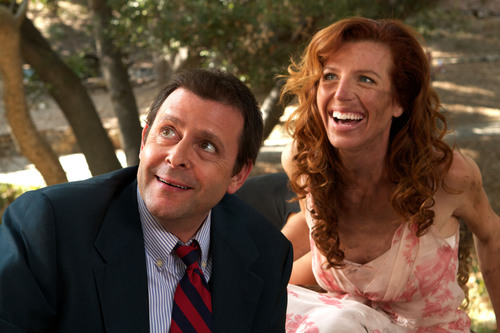 ACTOR JUDD NELSON AND ACTRESS TANNA FREDERICK IN JUST 45 MINUTES FROM BROADWAY. (PRNewsFoto/Iowa Independent ...