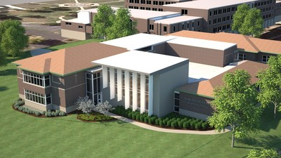 Marian University's new Byrum School of Business building is expected to open in December 2017.