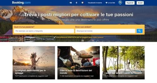 Trova i posti migliori per coltivare le tue passion (PRNewsFoto/Booking.com) (PRNewsFoto/Booking.com)