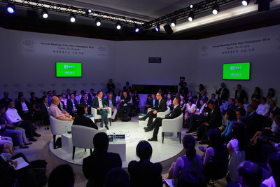 China's largest streaming site iQIYI hosted a debate session with the World Economic Forum at Summer Davos