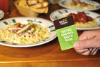 Olive Garden is celebrating the return of its most popular promotion -- Never Ending Pasta Bowl -- with the introduction of the first-ever Never Ending Pasta Pass. Beginning today, pasta fanatics can purchase one of the 1,000 Pasta Passes to unlock unlimited pasta and Coca-Cola soft drinks from Sept. 22 through Nov. 9. (PRNewsFoto/Olive Garden)