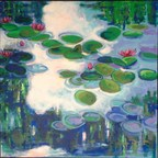 Lillies In The Clouds #1 by Jean Milu Truesdale