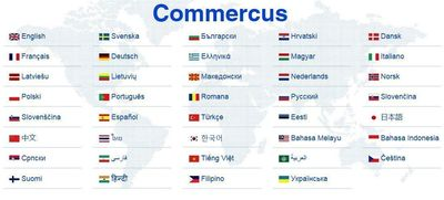 Commercus.com does it differently. Existing online advertisement portals are country based or based on a single language. By using those you will only reach customers that understand that language. Commercus have 39 built in languages where the visitors select the language where he/she feels most comfortable irrespective of the country where he/she lives. The visitor posts an advertisement in this language and selects translation to any number of languages possible. Then the advertisement will be automatically published into selected languages. (PRNewsFoto/Commercus.com)