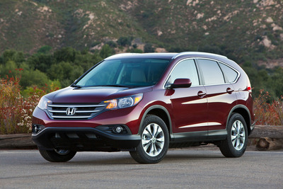Honda Captures Polk Automotive Loyalty Awards.  (PRNewsFoto/American Honda Motor Co., Inc.)