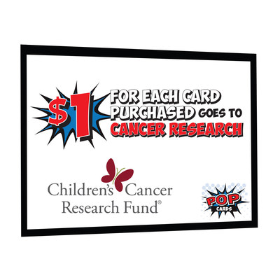 Popcards Partners With Children's Cancer Research Fund