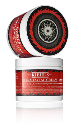 In honor of Kiehl's LifeRide for amfAR, Kiehl's has introduced a Limited Edition Ultra Facial Cream, available at Kiehl's stores nationwide and Kiehls.com. 100% of Kiehl's net profits from the sale of this product, up to $25,000, will benefit amfAR.  (PRNewsFoto/Kiehl's Since 1851, Richard Pierce)