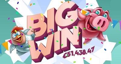 "Newcomer's €51,438 Win at BitStarz takes ""Beginners Luck"" to a whole new level (PRNewsFoto/BitStarz) (PRNewsFoto/BitStarz)"