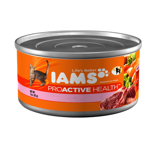 Iams ProActive Health Canned Cat and Kitten Food.  (PRNewsFoto/Procter & Gamble Company)