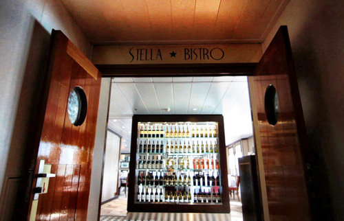 Stella Bistro makes its debut as the new French Bistro on Wind Surf.  (PRNewsFoto/Windstar Cruises)
