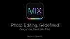 Award winning developer Camera360 launches revolutionary photo editor 'MIX'. (PRNewsFoto/Camera360)