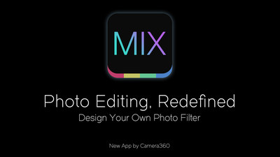 Award winning developer Camera360 launches revolutionary photo editor 'MIX'.