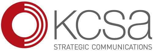 KCSA Strategic Communications: www.kcsa.com and http://bit.ly/DiaryofanIPO.  (PRNewsFoto/KCSA Strategic Communications)