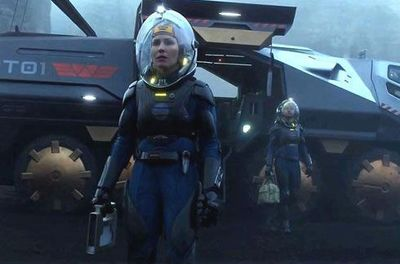 Prometheus: sci-fi blockbuster released June 2012.