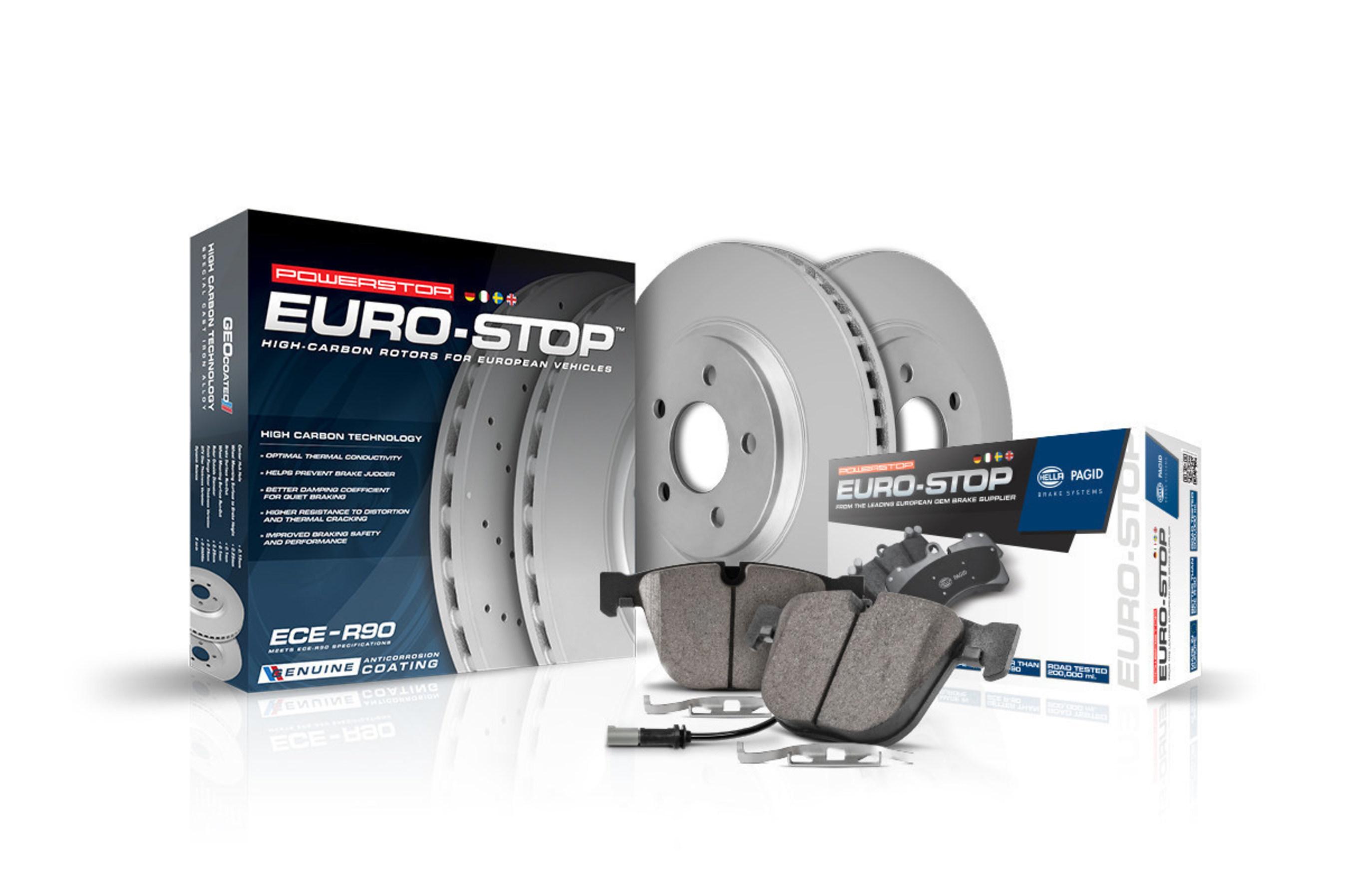 Power Stop Llc Announces Euro Stop Brake Kits For European
