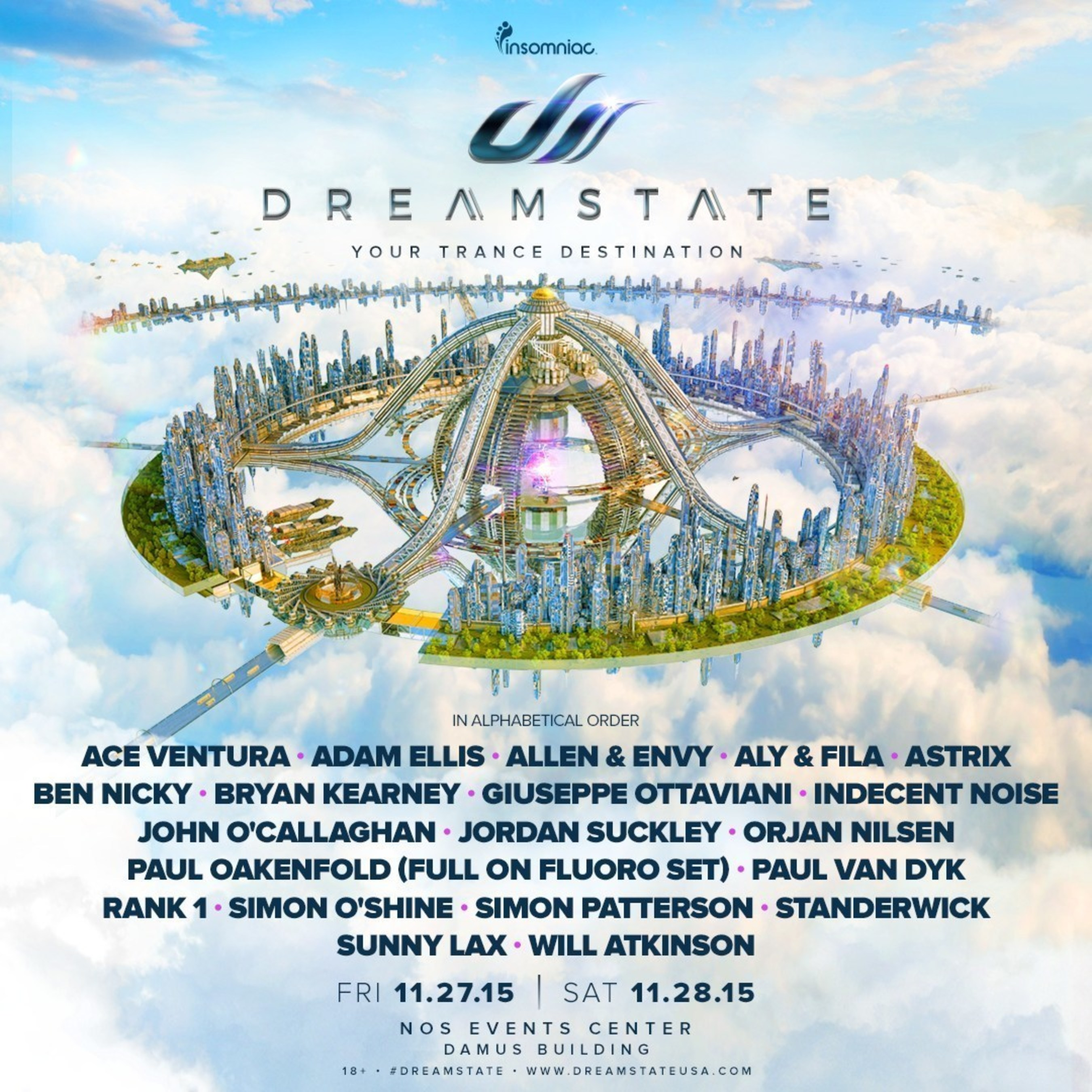 DREAMSTATE IS HERE: INSOMNIAC UNLEASHES THE DEFINITIVE DESTINATION FOR TRANCE MUSIC FANS