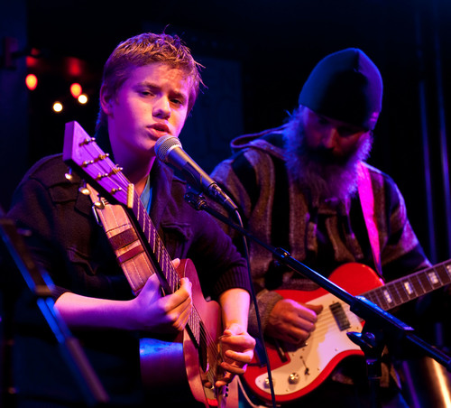 Jackson Nance performs at Puckett's Leiper's Fork, Tn. (PRNewsFoto/Williamson County Convention & ...