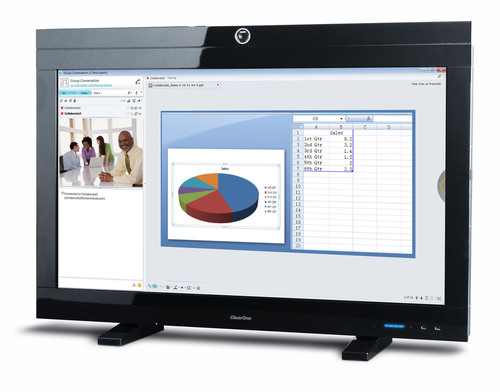 ClearOne Introduces All-In-One Video Collaboration Solution for Users of Unified Communications and