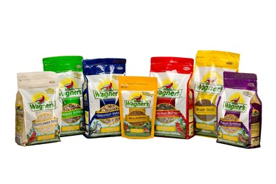 Wagner's Wild Bird Food Adds VELCRO(R) Brand's PRESS-LOK(R) Closure To Its Stand-Up Packaging