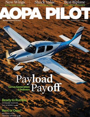 May 2013 AOPA Pilot magazine.  (PRNewsFoto/Cirrus Aircraft)
