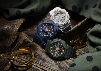 CASIO G-SHOCK S SERIES ANNOUNCES MILITARY COLLECTION FOR SPRING 2016