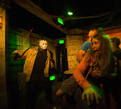 """The epic 25th year of the nation's best Halloween event, Universal Orlando's Halloween Horror Nights, is officially open, marking the biggest, longest and most intense event in history. The master of horror, Jack the Clown, has returned as the event's ultimate icon, and he's assembled the most maniacal myriad of monsters imaginable. This year's event includes nine disturbingly-real haunted houses, two live shows and five uniquely terrifying scare zones featuring more menacing """"scareactors"""" than ever before. For more information, visit www.HalloweenHorrorNights.com/Orlando."""