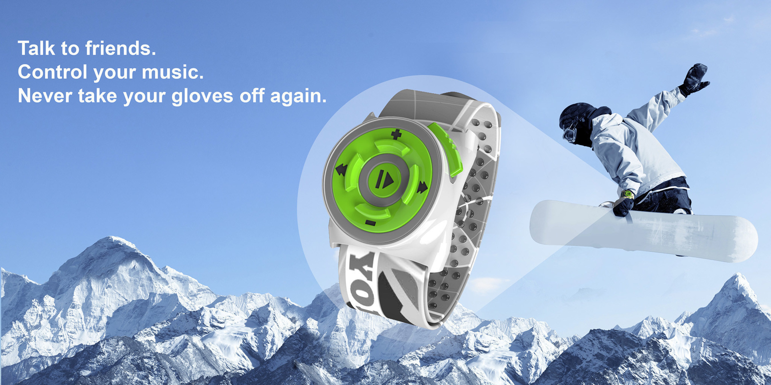 YodelUP - World's first on-glove wearable for communication and music launches on Kickstarter