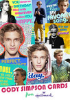 Hallmark announces first-of-its-kind Cody Simpson greeting cards now available nationwide.