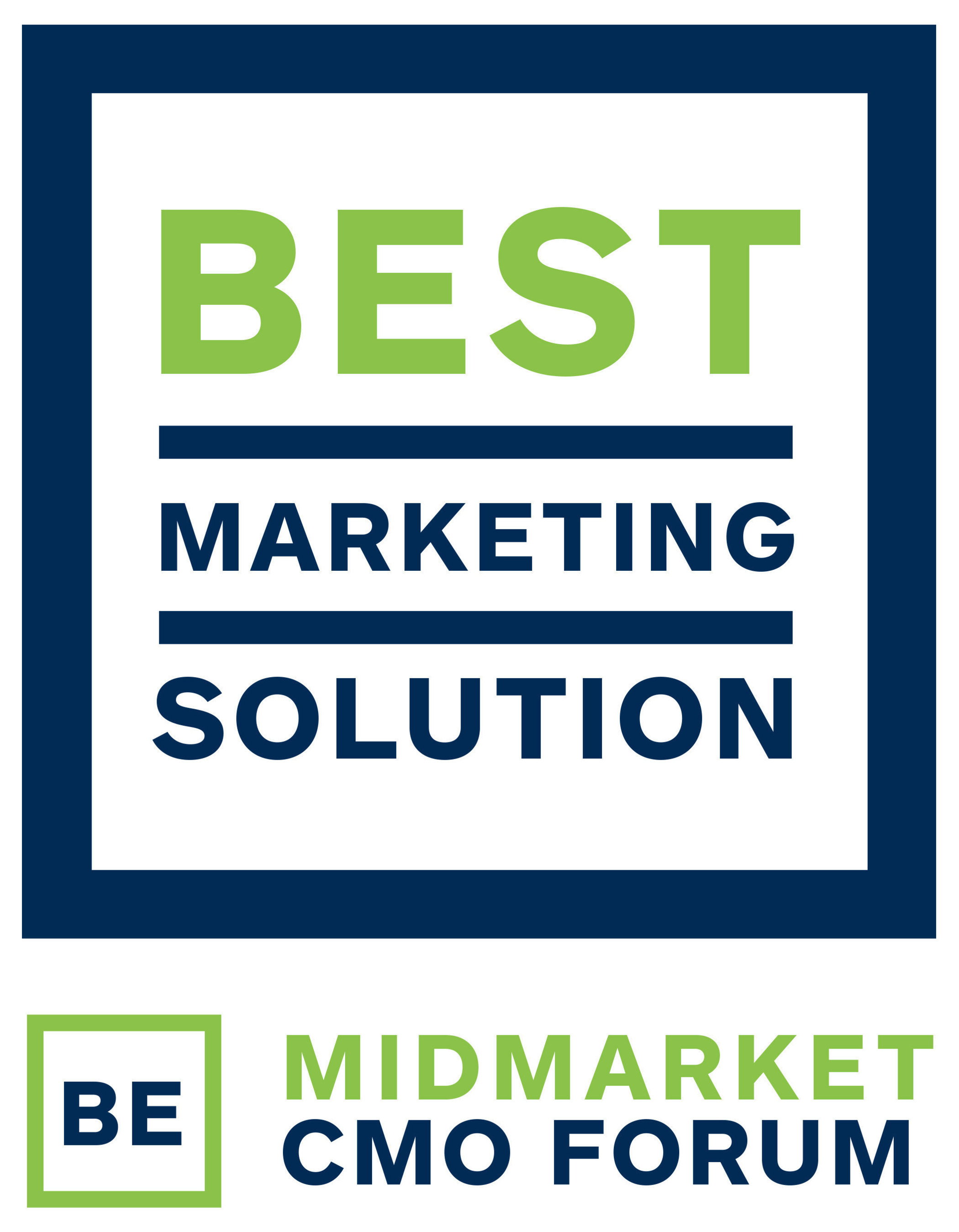 "MarcomCentral named ""Best Marketing Solution"" for its technology, strategy and innovation in marketing technology."