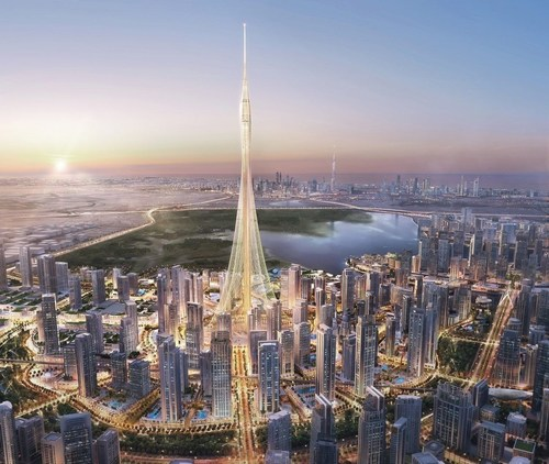 The Tower at Dubai Creek Harbour (PRNewsFoto/Emaar)