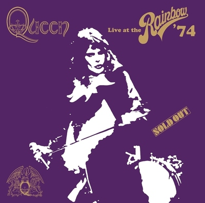 Queen - Live At The Rainbow '74 cover art