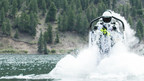 A Guinness World Record jetpack pilot is back for another extreme stunt!