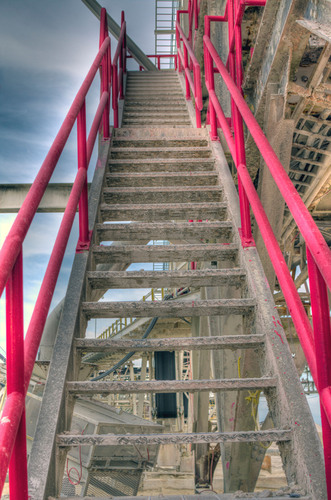 """Titan America's Pennsuco Plant in Medley, FL is forever """"pink"""" to remind employees and visitors ..."""