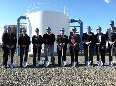 Rep. Lowenthal (D-Long Beach) Joins WRD at Groundbreaking Ceremony to Expand Leo J. Vander Lans Advanced Water Treatment Facility.  (PRNewsFoto/Water Replenishment District of Southern California)