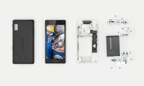 Fairphone 2 Disassembled. Credit: Fairphone (PRNewsFoto/Fairphone  B.V.)