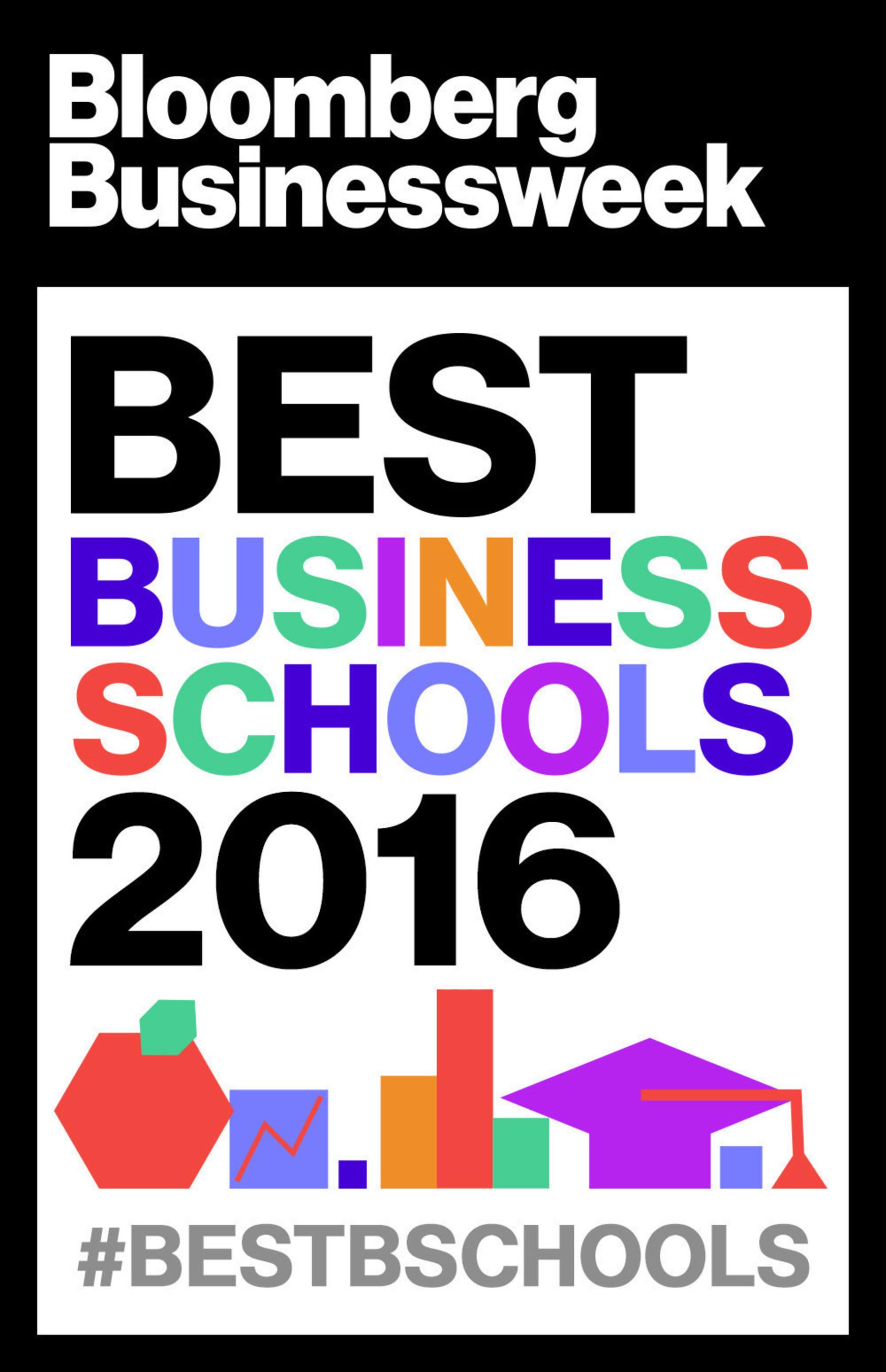 Bloomberg Businessweek releases its 2016 ranking of the best U.S. business schools