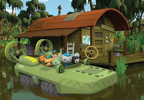 The Octonauts characters in the Swamp Search special