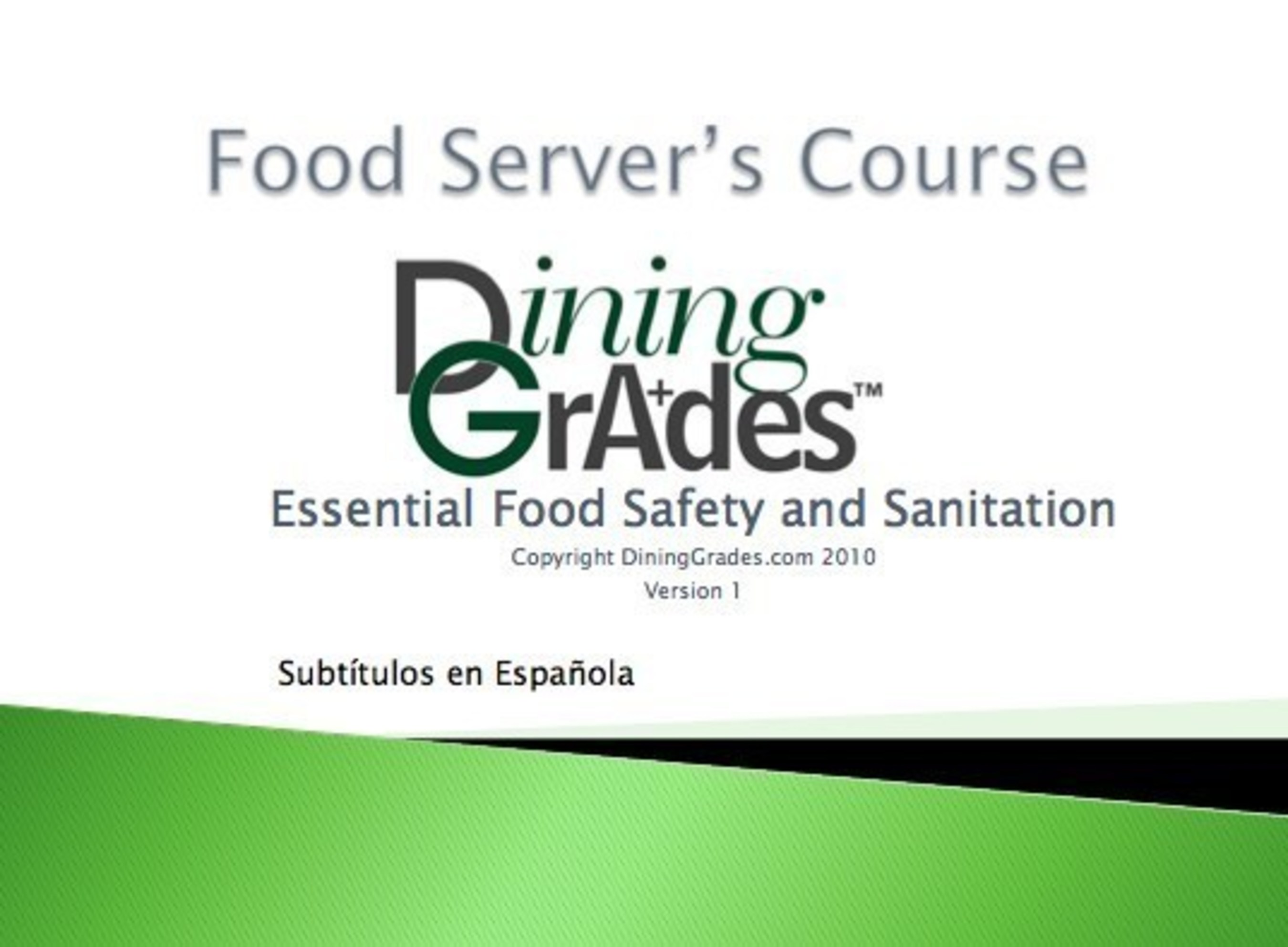 DiningGrades Offers Free Food Safety Courses to Reduce Dirty