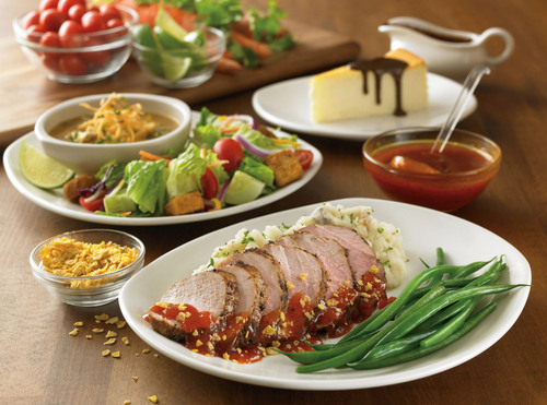 Go 4 it all at Outback Steakhouse. New Outback 4 Menu Offers 4 Courses for Just $15.  (PRNewsFoto/Outback Steakhouse)
