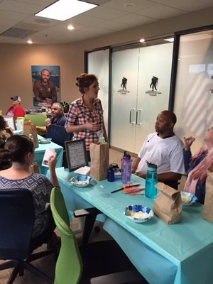 During a recent Wounded Warrior Project(R) (WWP) program event, veterans and their family members were given the opportunity to explore the benefits of nature through essential oils, which are distilled from plants and carry fragrance and nutrients.
