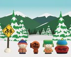 The full 3D printed set of Stan Marsh, Kyle Broflovski, Kenny McCormick, and Eric Cartman. From 8/23 to 8/31 consumers that purchase the full set will have the opportunity to receive an autographed set. You can find more details about the contest at each marketplace.
