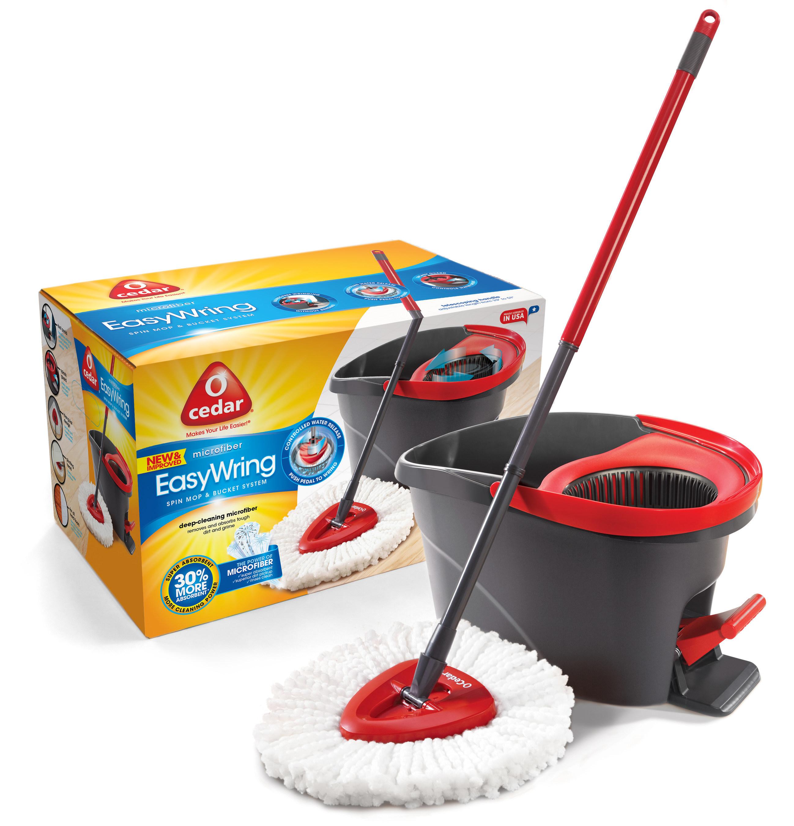 O-Cedar's EasyWring(TM) Spin Mop & Bucket System