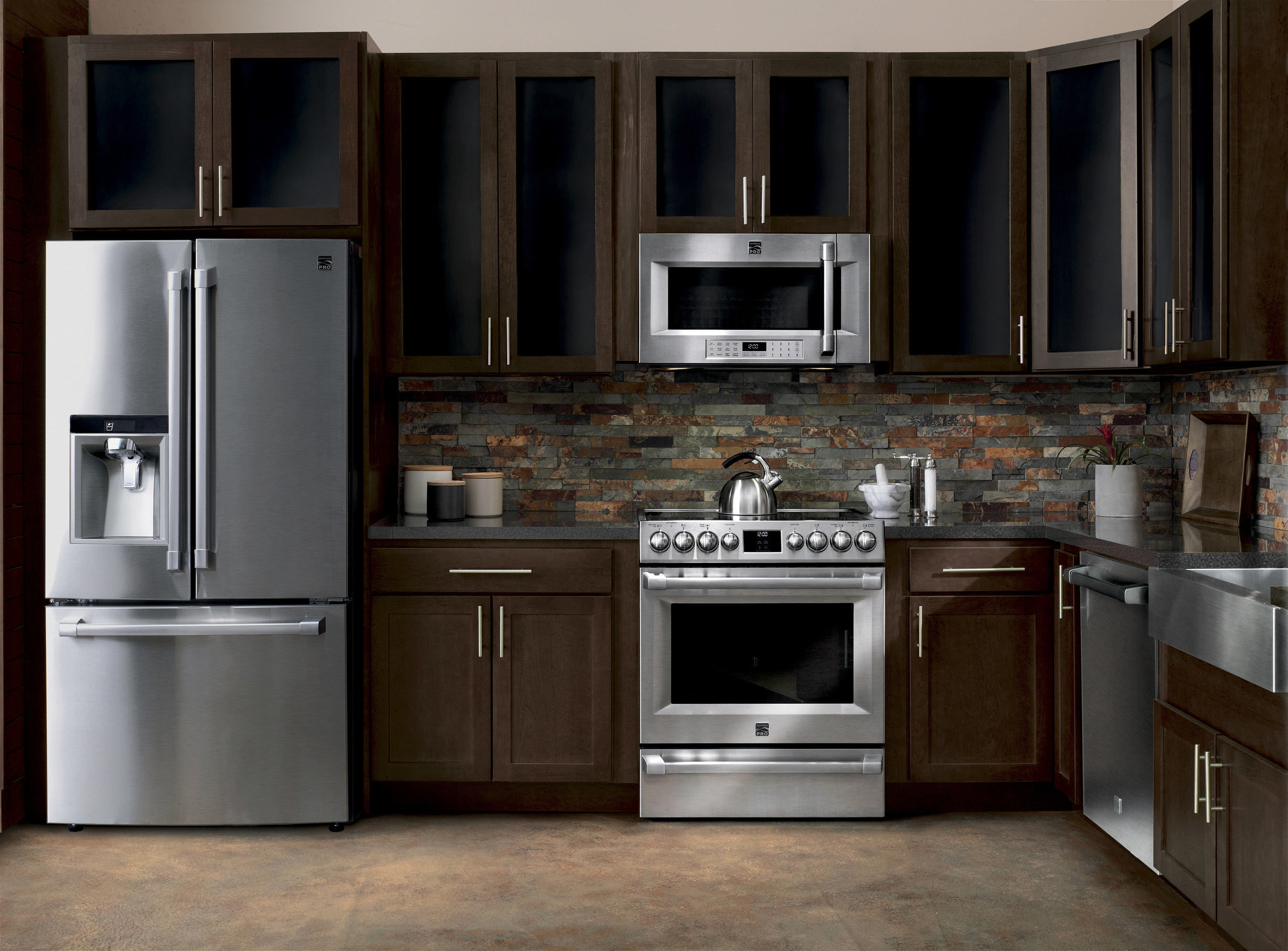 Merveilleux The New Kenmore PRO(R) Kitchen Appliance Suite Delivers Luxury Performance  At An Affordable